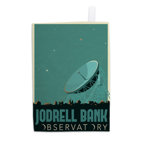 Jodrell Bank Observatory Tea Towel