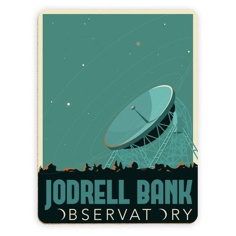 Jodrell Bank Observatory Placemat