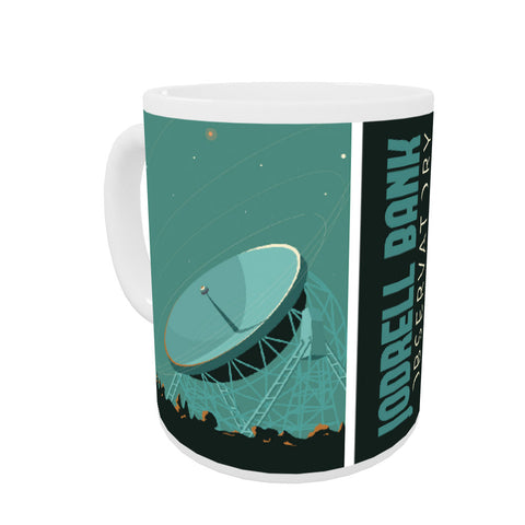 Jodrell Bank Observatory Coloured Insert Mug