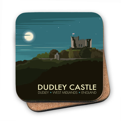 Dudley Castle MDF Coaster