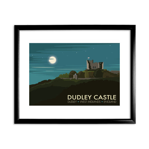 Dudley Castle 11x14 Framed Print (Black)