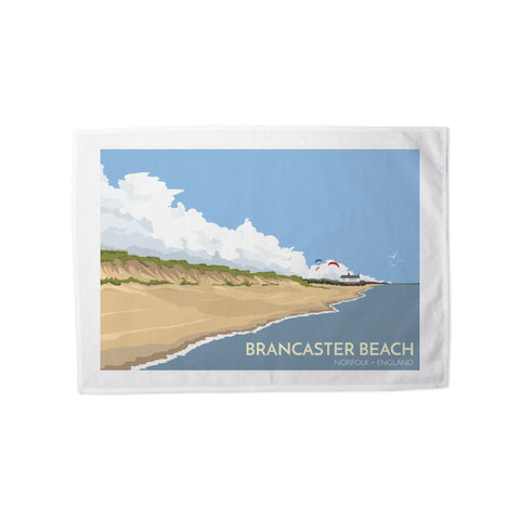 Brancaster Beach, Norfolk Tea Towel