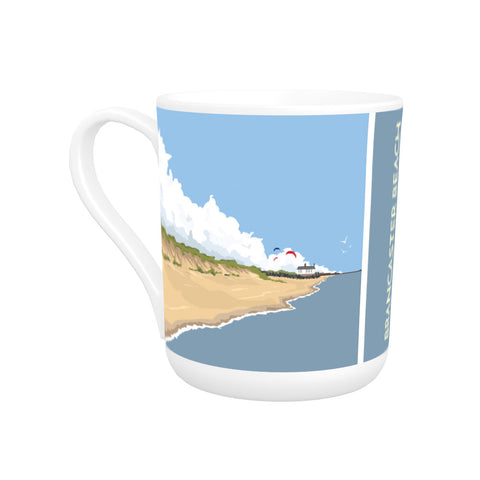 Brancaster Beach, Norfolk Bone China Mug