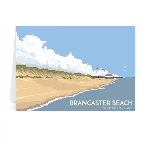 Brancaster Beach, Norfolk Greeting Card 7x5
