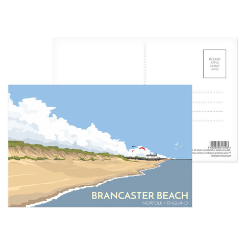 Brancaster Beach, Norfolk Postcard Pack