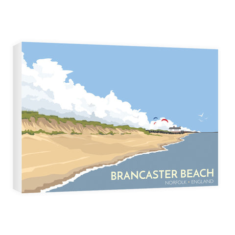 Brancaster Beach, Norfolk 60cm x 80cm Canvas