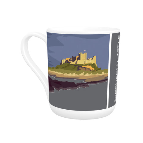 Bamburgh Castle, Northumberland Bone China Mug