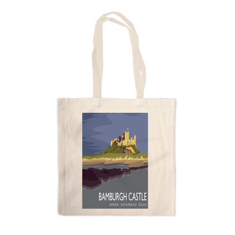 Bamburgh Castle, Northumberland Canvas Tote Bag