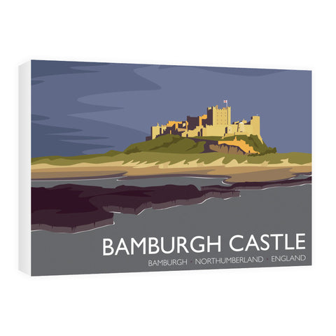Bamburgh Castle, Northumberland 60cm x 80cm Canvas