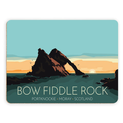 Bow Fiddle Rock, Moray, Scotland Placemat