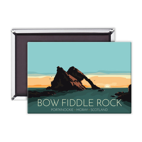 Bow Fiddle Rock, Moray, Scotland Magnet