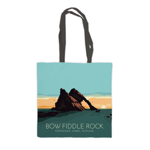 Bow Fiddle Rock, Moray, Scotland Premium Tote Bag