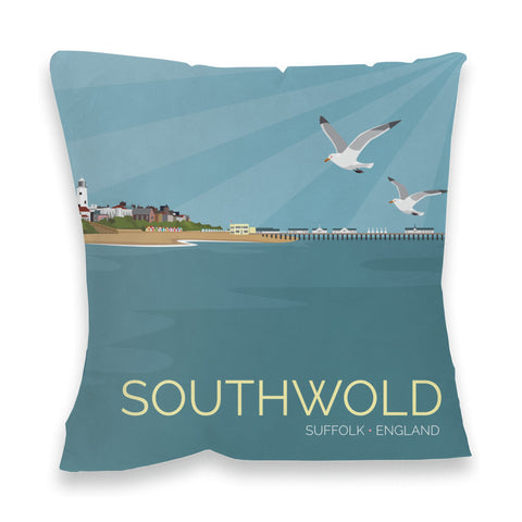 Southwold, Suffolk Fibre Filled Cushion