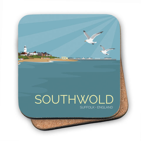 Southwold, Suffolk MDF Coaster