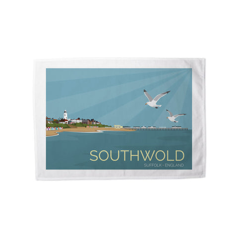Southwold, Suffolk Tea Towel