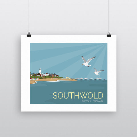 Southwold, Suffolk 90x120cm Fine Art Print