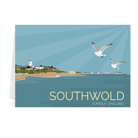 Southwold, Suffolk Greeting Card 7x5
