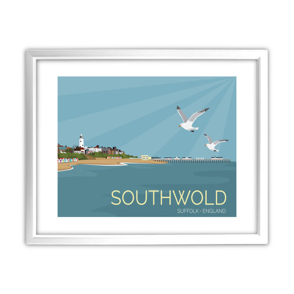 Southwold, Suffolk 11x14 Framed Print (White)