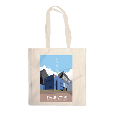 Portman Road, Ipswich Canvas Tote Bag