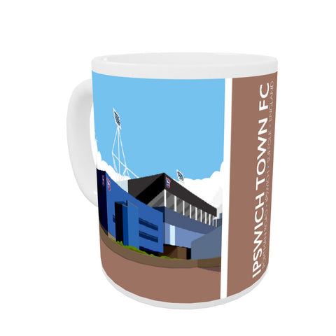 Portman Road, Ipswich Coloured Insert Mug