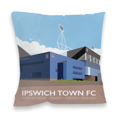 Portman Road, Ipswich Fibre Filled Cushion
