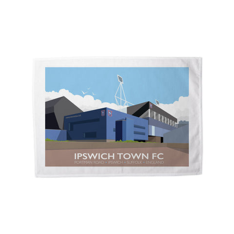 Portman Road, Ipswich Tea Towel