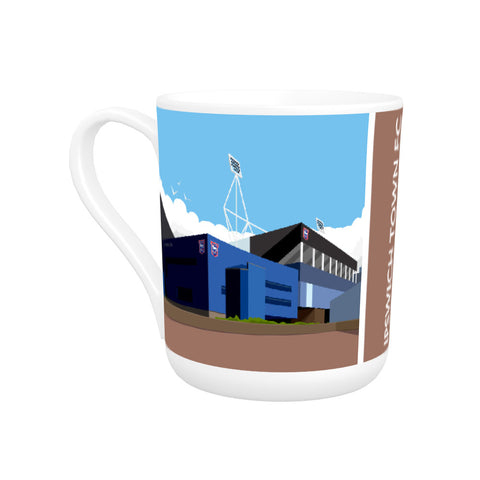 Portman Road, Ipswich Bone China Mug
