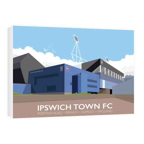 Portman Road, Ipswich 60cm x 80cm Canvas