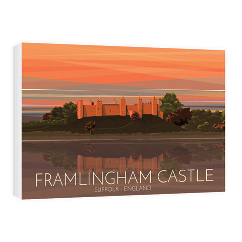 Framlingham Castle, Suffolk 60cm x 80cm Canvas