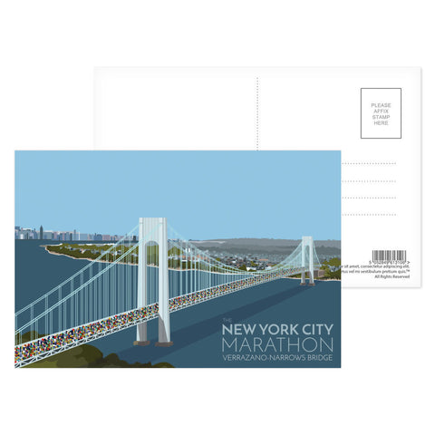 New York, USA Postcard Pack