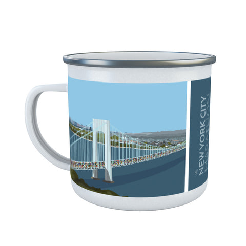 New York, USA Enamel Mug