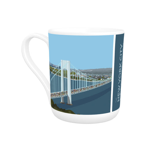 New York, USA Bone China Mug