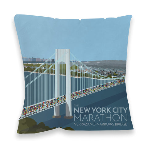 New York, USA Fibre Filled Cushion