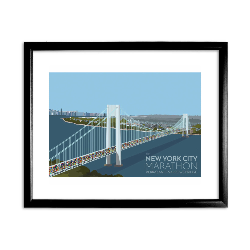 New York, USA 11x14 Framed Print (Black)