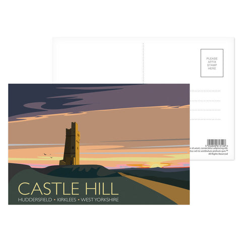 Castle Hill, Huddersfield, Yorkshire Postcard Pack