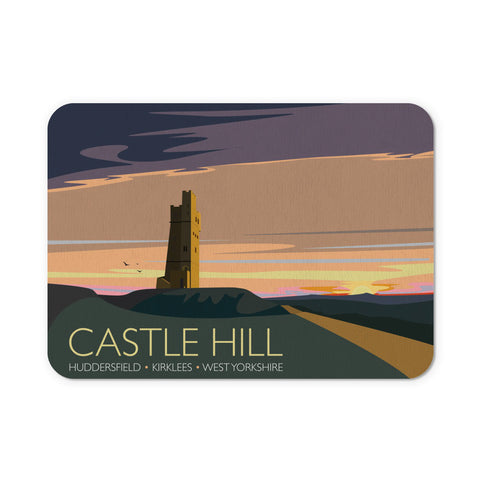 Castle Hill, Huddersfield, Yorkshire Mouse Mat