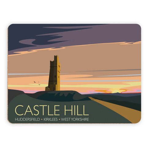 Castle Hill, Huddersfield, Yorkshire Placemat