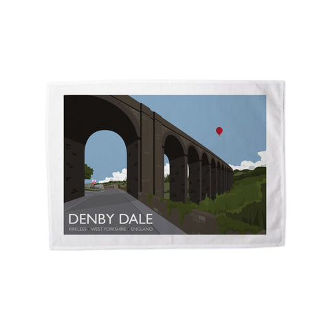 Denby Dale, Kirlees, Yorkshire Tea Towel