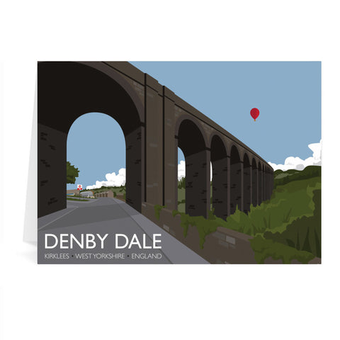 Denby Dale, Kirlees, Yorkshire Greeting Card 7x5