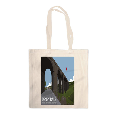 Denby Dale, Kirlees, Yorkshire Canvas Tote Bag