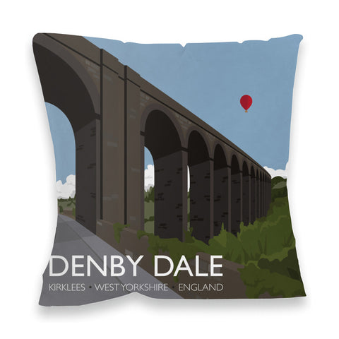 Denby Dale, Kirlees, Yorkshire Fibre Filled Cushion