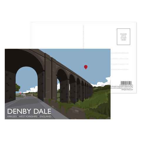 Denby Dale, Kirlees, Yorkshire Postcard Pack