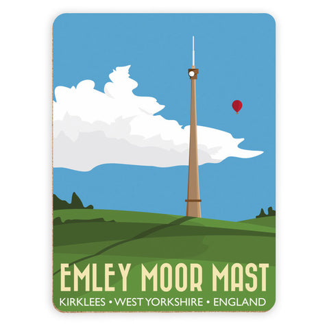 The Emley Moor Mast, Kirklees, Yorkshire Placemat
