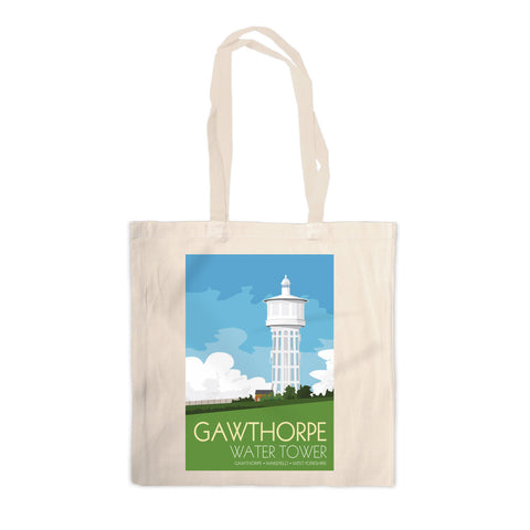The Gawthorpe Water Tower, Wakefield, Yorkshire Canvas Tote Bag