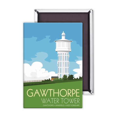 The Gawthorpe Water Tower, Wakefield, Yorkshire Magnet