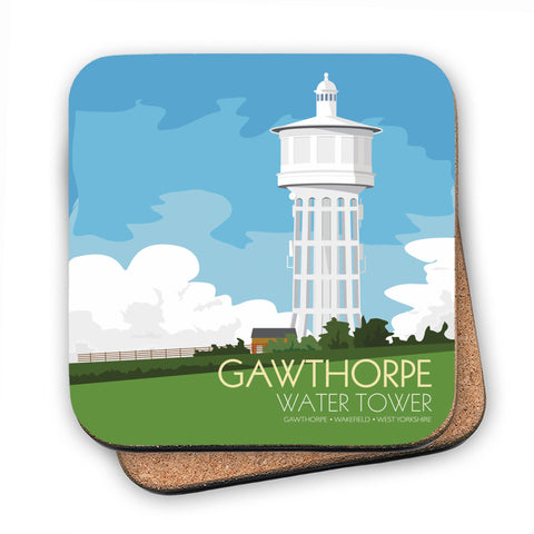 The Gawthorpe Water Tower, Wakefield, Yorkshire MDF Coaster