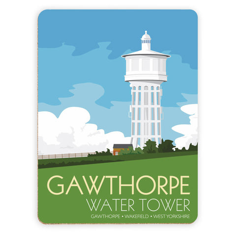The Gawthorpe Water Tower, Wakefield, Yorkshire Placemat
