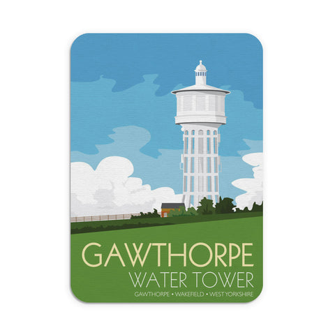 The Gawthorpe Water Tower, Wakefield, Yorkshire Mouse Mat