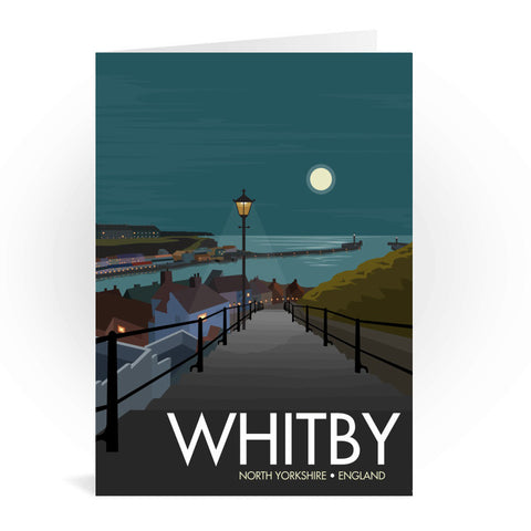Whitby, Yorkshire Greeting Card 7x5
