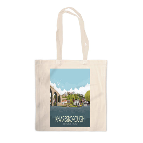 Knaresborough, Yorkshire Canvas Tote Bag